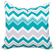 Majestic Home Goods Pacific Towers Pillow, Large, Turquoise