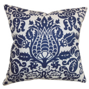 The Pillow Collection Delcine Floral Pillow