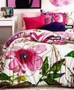 TeenVogue Flora & Fauna Decorative Circle & Bolster Pillow