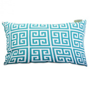 Majestic Home Goods Pacific Towers Pillow, Small, Turquoise