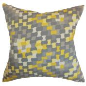 The Pillow Collection Gaya Geometric Pillow