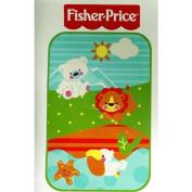 Precious Planet Toddler Plush Throw Blanket