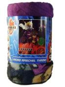Bakugan Battle Brawlers Micro Raschel Throw Blanket