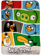 Angry Birds Twin Bed Comforter Bold Colours Blanket