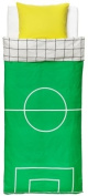 Ikea Spelplan Twin Duvet Cover Set Green Yellow Sports
