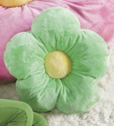 HearthSong Fluffy Flower Pillow-41cm diam.