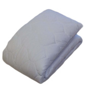 Gilbin, Quilted Cot Size Mattress Pad, 80cm x 190cm