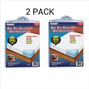 Ideaworks Bed Bug Blockade Mattress Cover- Queen Size Mattress
