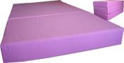 Brand New Pink Twin Size Shikibuton Trifold Foam Beds 15cm Thick x 100cm W x 190cm L Long, 0.8kg high density resilient white foam, Floor Foam Folding Mats.