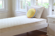 Naturepedic Quilted Organic Cotton Deluxe Full One Sided Plush Kids Mattress