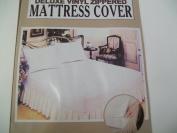 Deluxe Vinyl Zippered Mattress Cover---queen Size