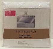 Sultan's Linens Microfiber Hypo-Allergenic Mattress Pad, Queen