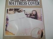 Deluxe Vinyl Zippered Mattress Cover---full Size