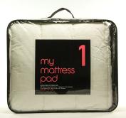 Hollander My Mattress Pad Level 1 Twin XL Mattress Pad White