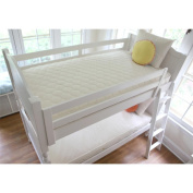 Naturepedic Organic Cotton Ultra 2 in 1 Quilted Twin Mattress Set