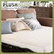 PlushBeds Gel Memory Foam Sofa Bed Mattress - Twin