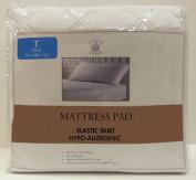 Sultan's Linens Microfiber Hypo-Allergenic Mattress Pad, Twin