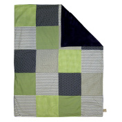 Trend Lab Multi-Patched Receiving Blanket