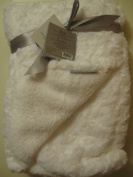 Blankets and Beyond White Swirl Very Soft Baby Blanket