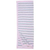 Blanket. Bunny Stripe. 30X40.