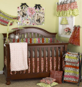 Cotton Tale Designs Here Kitty Kitty Bedding Set, 8 Piece