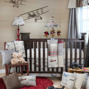 Fly-By 3 Piece Baby Crib Bedding Set by Glenna Jean