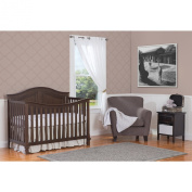 Summer Classic Bedding Set with Adjustable Crib Skirt, Frame Geo, 4 Piece