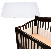 Breathable Baby Crib Bumper with Waterproof Crib Sheet