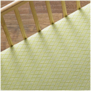 Lolli Living Phinley Fitted Sheet - Green Diamond