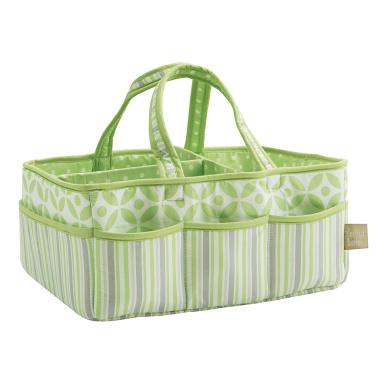 Trend Lab Lauren Storage Caddy, Green