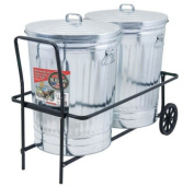 Behrens TCC 110kg Capacity Dual Trash Can Cart