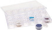 24 In 1 Plastic Storage Containers 9 X 6 X 1 - PKG-325.24