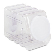 Pacon : Interlocking Storage Container with Lid, Clear Plastic -:- Sold as 2 Packs of - 1 - / - Total of 2 Each
