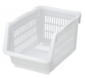 Japanese Stackable Bin Kitchen Stocker White #6089