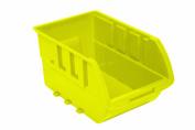 Homak HA01001595 Single Large Plastic Individual Bin, Yellow
