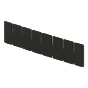 Lewisbins+ Vertical Dividers For Conductive Divider Boxes - Long Dividers - Slot Qty. 5 - Fits Box 4711600