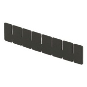 Lewisbins+ Vertical Dividers For Conductive Divider Boxes - Long Dividers - Slot Qty. 5 - Fits Box 4711300