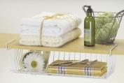 Better Houseware 18740 Undershelf Basket, White