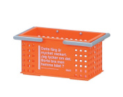 Like-it SCC-4 Portable and Stackable Basket Organiser, Small