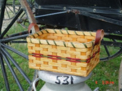 Basket - Utensil - Large - 7.5 X 11 X 5.5 - W/out Organiser. Accent Colours May Vary