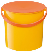 Like-It MP-01-YL Colourful Bucket with Lid, Yellow