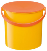Like-It MP-02-YL Colourful Bucket with Lid, Yellow