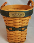 Longaberger 2001 Collectors Club Renewal Basket