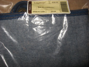 Longaberger Small Gathering Basket Blue Denim Colour Fabric Over Edge Style Liner