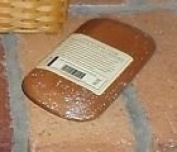 Longaberger2004 Hostess Appreciation Basket Lid Warm Brown Stain New