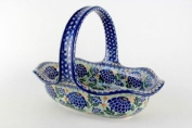 Polish Pottery Sofia Basket