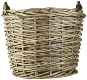 ZENTIQUE French Market Round Basket, Large