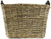 ZENTIQUE French Market Woven Basket, Large
