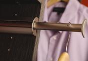 Synergy Elite Closet Valet Rod in Matte Nickel