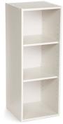 ClosetMaid 8987 Stackable 3-Shelf Organiser, White